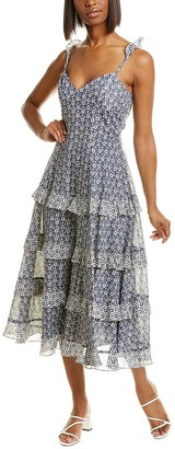 La Vie By Rebecca Taylor Petula Maxi Dress