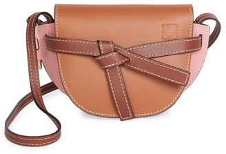 Loewe Mini Gate Leather Saddle Bag