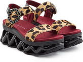 Marc by Marc Jacobs Haircalf Ninja Strass Wave Sandals