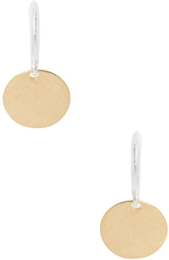 Gurhan Women's Silver & Gold Flake Earrings