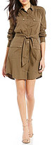 Trina Turk Audrick Button Front Shirt Dress