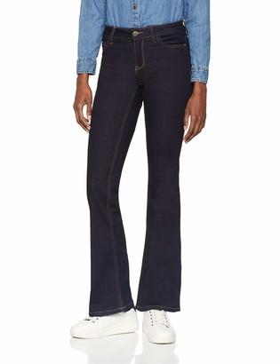 JDY Women's JDYELIA Flared RW DNM NOOS Bootcut Jeans
