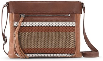 The Sak Sanibel Mini Leather Crossbody Handbag