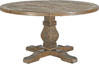 Classic Home By Kosas Home Quincy Reclaimed Pine Round Dining Table