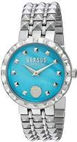 Versus By Versace Women's 'CORAL GABLES' Quartz Stainless Steel Casual Watch, Color:Silver-Toned (Model: SOD120016)