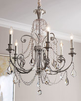Horchow Delphine 6-Light Chandelier