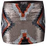 The Nude Face Tsholotsho Hand Beaded Mini Skirt.