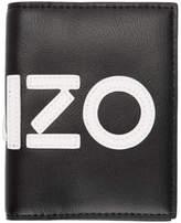 Kenzo Black Logo Card Holder