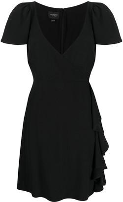 Giambattista Valli Ruffle-Trimmed Silk Dress