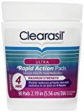 Clearasil Ultra Rapid Action Pads - 0.46 oz - 90 ct