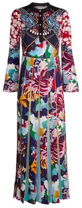 Mary Katrantzou Desmine Baroque-Print Dress
