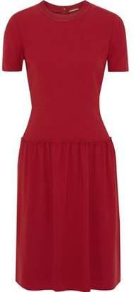 Elie Tahari Jay Gathered Crepe Dress