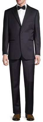 Saks Fifth Avenue Formal Tailored-Fit Wool Suit