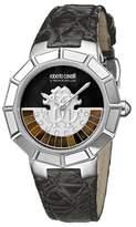 Roberto Cavalli Women's Black Dial Watch.