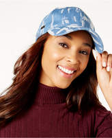 Steve Madden Distressed Denim Baseball Cap