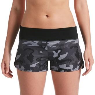 Nike Women's Camo Swim Boardshorts