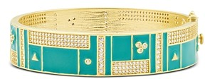 Freida Rothman Harmony Wide Bangle Bracelet in 14K Gold-Plated Sterling Silver