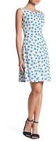 Nine West Patterned Flare Dress