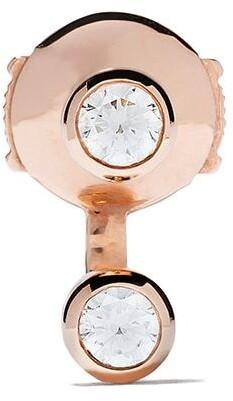VANRYCKE 18kt rose gold diamond Else earring