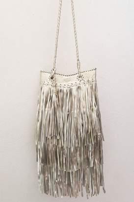 Areias Leather Light Golden Bag
