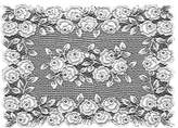 Heritage Lace Tea Rose 14-Inch by 20-Inch Placemat