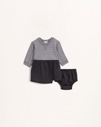 Splendid Baby Girl Striped Sweatshirt Dress