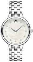 Movado Women&s Stainless Steel Watch