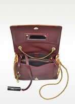 Jerome Dreyfuss Eliot Pony Hair and Leather Small Bag
