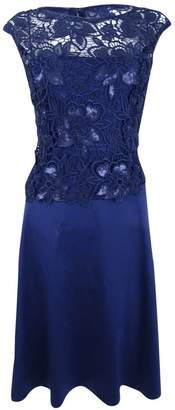 Adrianna Papell Women's Cap Sleeve Cocktail Dress with a Line Skirt