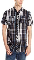 Burnside Men's Monarch Short Sleeve Woven Shirt
