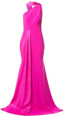 Alex Perry Hollis one shoulder gown