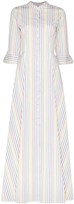 Evi Grintela Amaryllis striped maxi dress