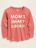 Old Navy Graphic Long-Sleeve Tee for Toddler Girls