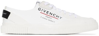 Givenchy Address logo-print low-top sneakers