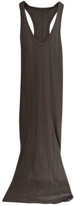 Enza Costa Khaki Cotton Dresses