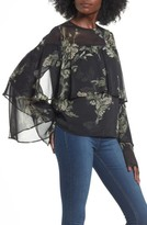 Leith Women's Tiered Flounce Top