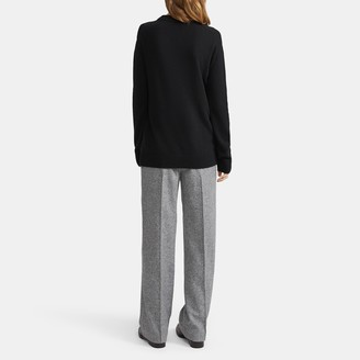 Theory Cashmere Relaxed Crewneck Sweater