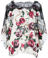 Roberto Cavalli Mystic Garden print kaftan - women - Silk - 42
