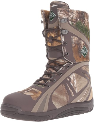Muck Boot Muck Pursuit Shadow Rubber Lightweight Insulated Scent-Masking Lace-Up Men's Hunting Boots