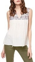 Sanctuary Women's Abel Embroidered Shell