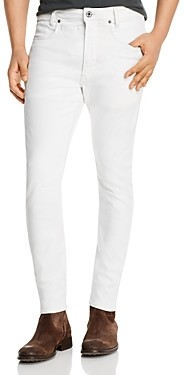 G Star D-Staq 3D Skinny Fit Jeans in White