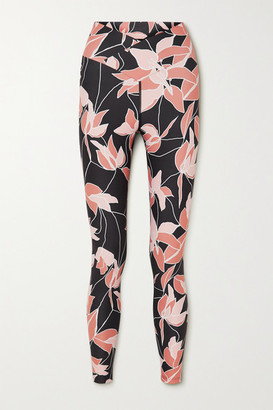 Beach Riot Cara Floral-print Stretch Leggings