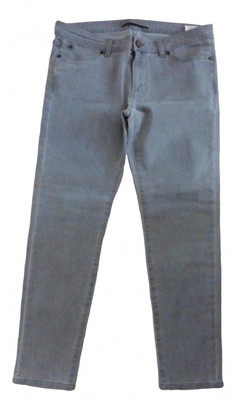 Superfine Grey Cotton - elasthane Jeans for Women