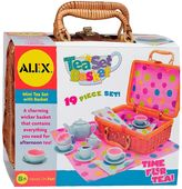 Alex 19-pc. Tea Set Basket