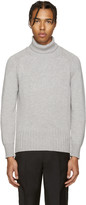 Marc Jacobs Grey Cashmere Turtleneck