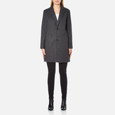 A.P.C. Women's Single Breasted Coat Grey