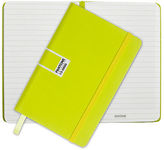 Pantone NEW Sulphur Spring Pocket Ruled Elastic Band Notebook