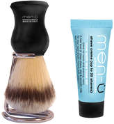 Menu men-ü DB Premier Shave Brush with Chrome Stand - Black
