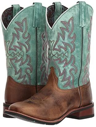 Laredo Anita (Brown/Turquoise) Cowboy Boots