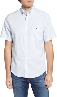 Vineyard Vines Tucker Classic Fit Short Sleeve Button-Down Shirt